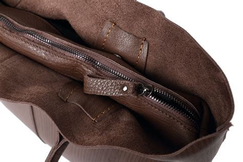 Is Cowhide Leather Real Leather - 2 pieces in brown top layer cowhide leather bag genuine