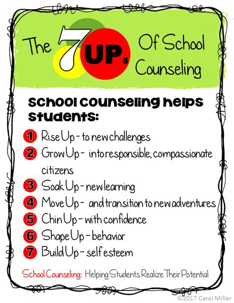 the middle school counselor