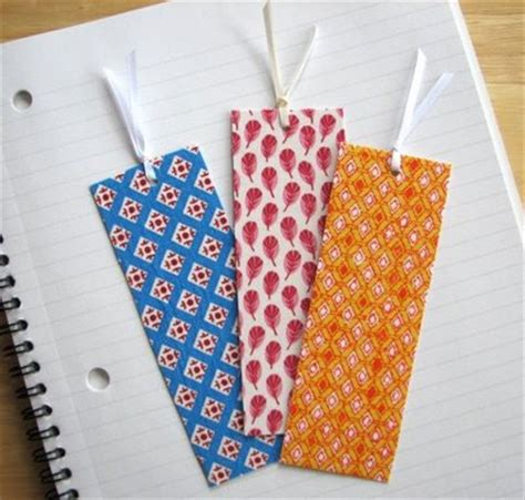 Handmade Fabric Bookmarks - one of a