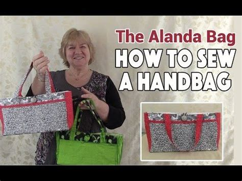 youtube tutorial sewing 17 best images about alanda craft on pinterest quilt