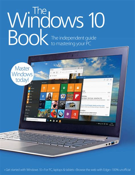 supporting windows 10 books the windows 10 book 2016 187 free pdf magazines for