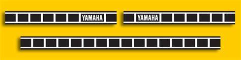 Yamaha Speedblock Aufkleber by Yamaha Graphics
