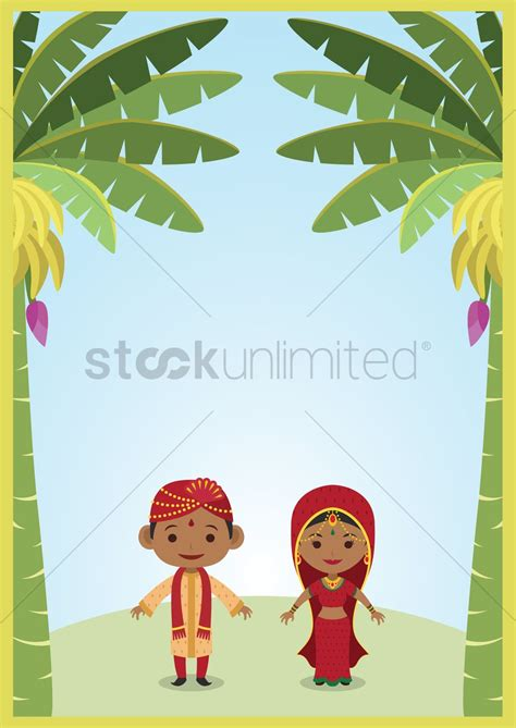 Wedding Vector Indian by Indian And Groom Vector Www Imgkid The Image