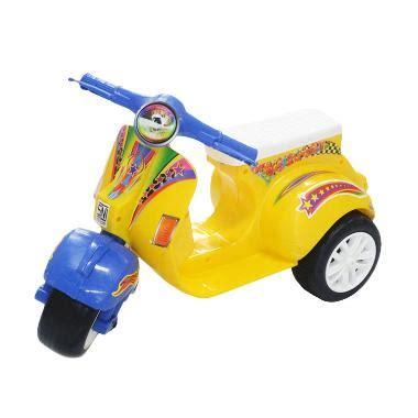 Mainan Anak Motor Aki Unikid Mb106 Motor Vespa Glam mainan motor vespa anak mainan oliv