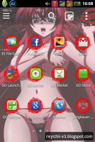 download theme windows 7 rias gremory rias gremory high school dxd android theme
