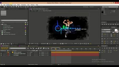 How To Edit And Download After Effects Template Free Futuristic Music Visual Template Youtube Editable After Effects Templates Free
