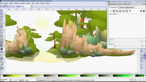 best software to make tutorial vector graphic background
