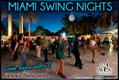 Miami Swing Nights All Swing Productions