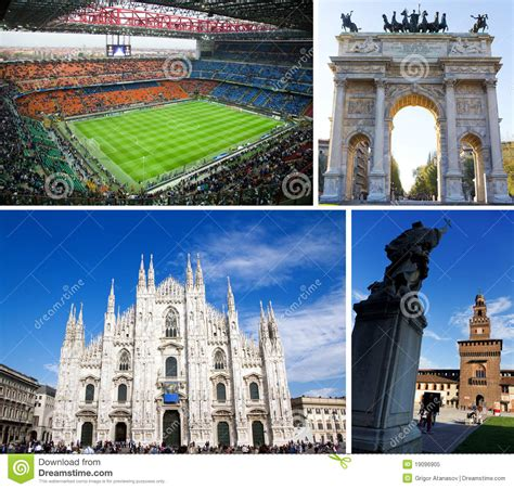milan tourist attractions tourist attractions in milan italy editorial image