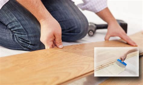 Floating vs. Glue down Wood Flooring   City Floor Supply