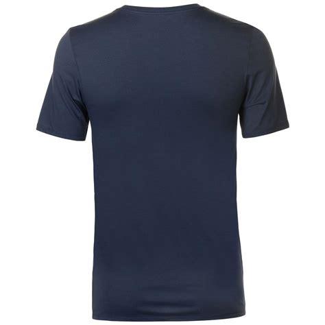mens nike athletic dry  shirt blue  shirts nielsen animal