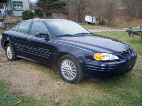 2001 Pontiac Grand Am Se Mpg Find Used 2001 Pontiac Grand Am Se V6 Only 94 000