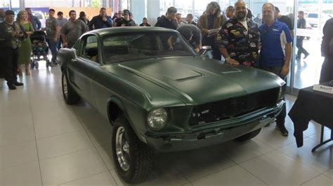 what year is the mustang in bullitt ford mustang found in mexican junkyard is from bullitt