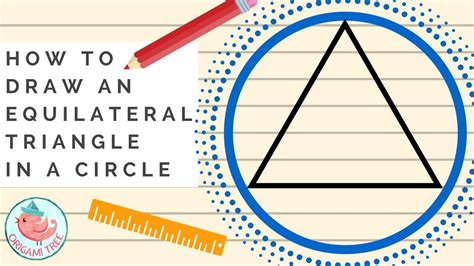 Triangle On Circle how to draw an equilateral triangle in a circle