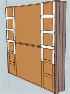 Murphy Bed Plans White Stacked Murphy Bed White Woodworking Projects
