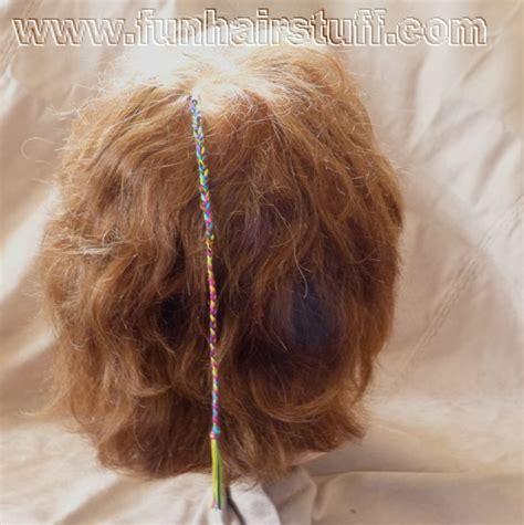 Plaited Yarn Braids | plaited yarn braids