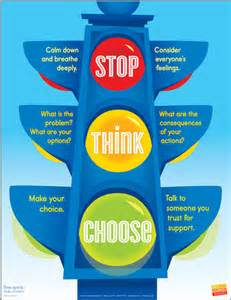 stop think choose poster safe amp caring schools series