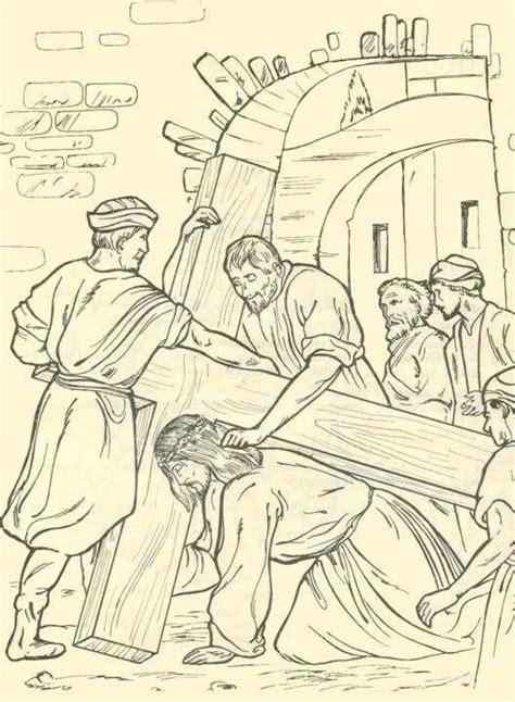 imagenes del via crucis en blanco y negro maribel se 241 o de reli via crucis para trabajar ii