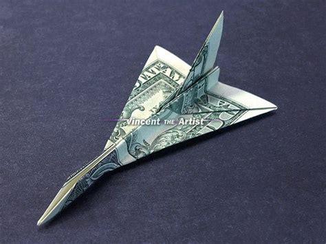 Origami F 16 - f 16 falcon jet fighter money origami dollar bill
