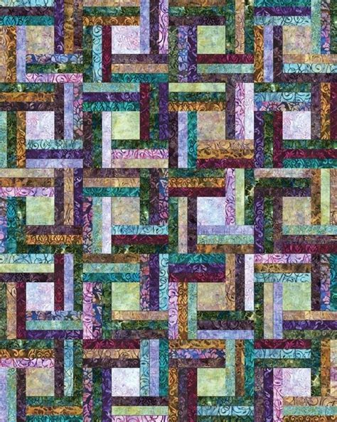 Rail Quilt Pattern by The Rail By Jaybird Quilts Quilts