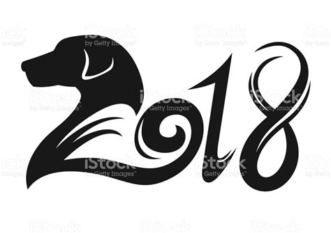 2018 year of the year of the 2018 stock vector more images of 2018 806545682 istock