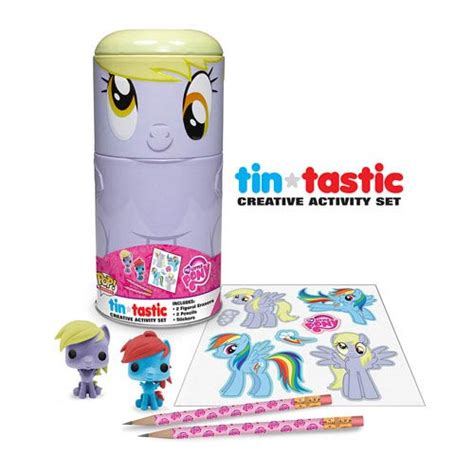 my pony derpy tin tastic pencil set funko my
