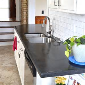 hometalk easy diy concrete counters the missing link
