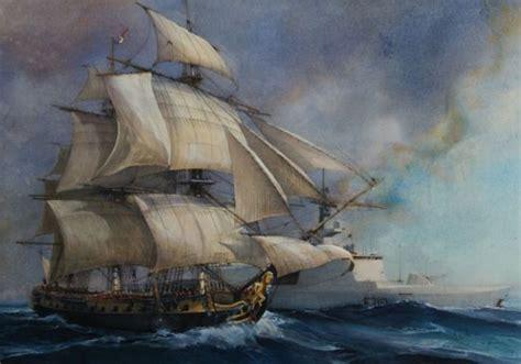 hermione bateau canon premi 232 re sortie en mer pour l hermione r 233 plique du navire