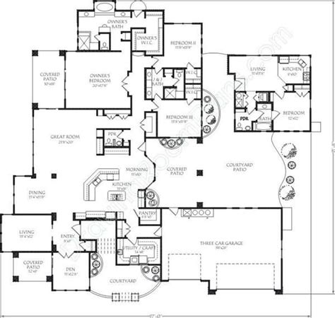 house plans with separate apartment house plans with separate apartment house plan 2017