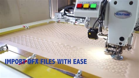 pattern machine you tube pattern sewing machine for car seats and leather