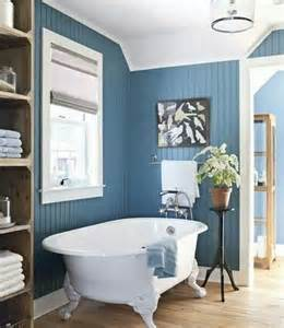 Blue Bathroom Decor by Beautiful Blue Beadboard Bathroom Bathroom Remodel