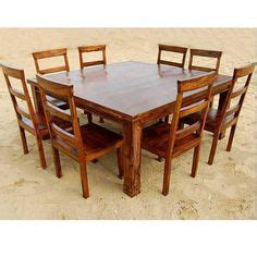8 person square dining table 1000 ideas about square dining tables on
