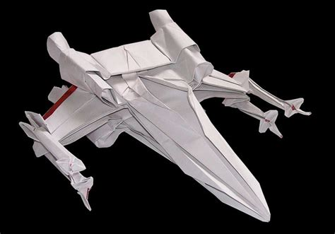 Origami X Wing - awesome wars origami lets you craft iconic robots and