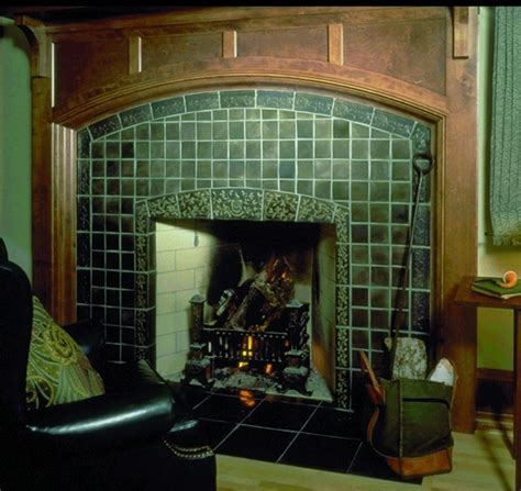 Arts And Crafts Tiles For Fireplaces by 29 Best Images About Fireplace Tile Inspiration On Hibians Arts Crafts And