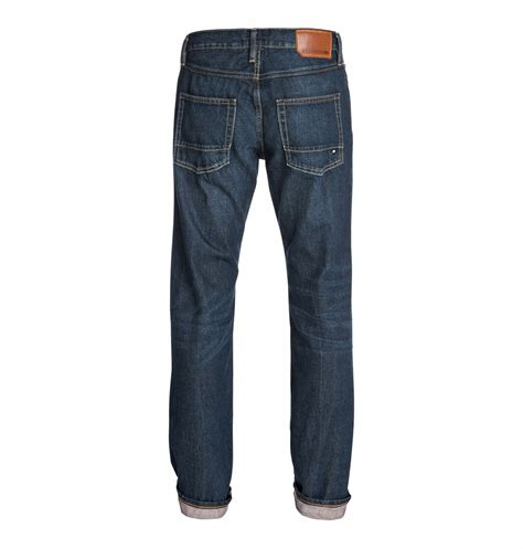 light stone washed denim jeans wkr straight light stone wash 34 quot inseam jeans edydp03101