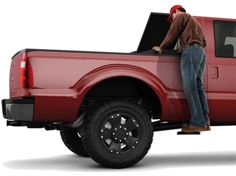 truck bed steps amp research bed step 2 car truck accessories com