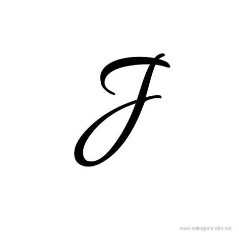 tattoo letter j design 25 best ideas about letter j on j