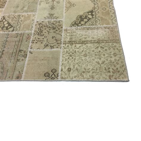 Vintage Patchwork - authentic vintage patchwork rug 200x300cm
