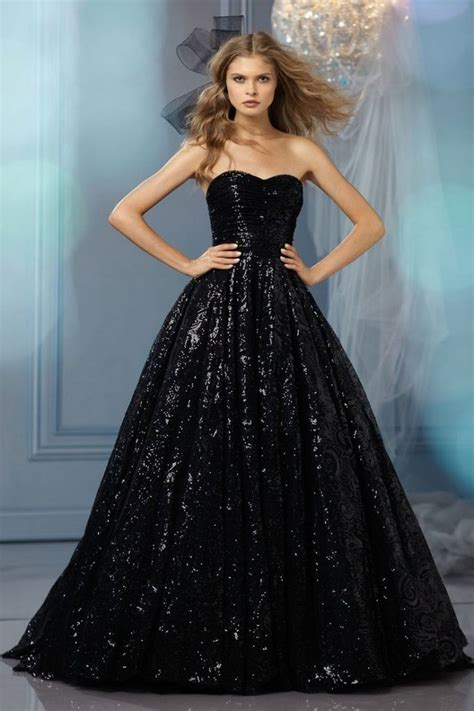hochzeitskleid in schwarz 25 glamorous black wedding dresses luxury pictures