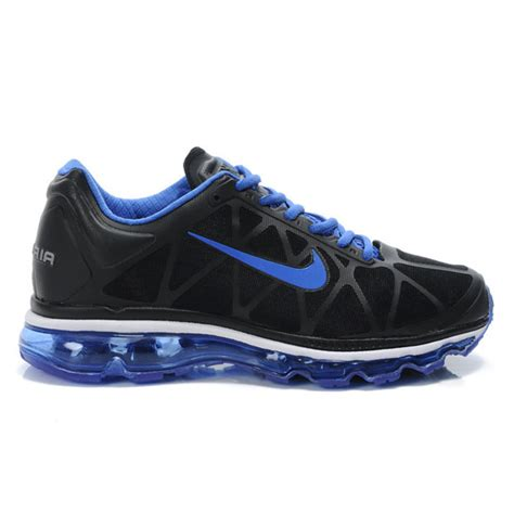 black and light blue nike air max 2011 mens womens running
