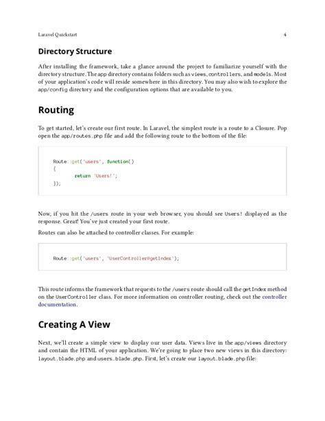 laravel layout yield laravel 4 documentation