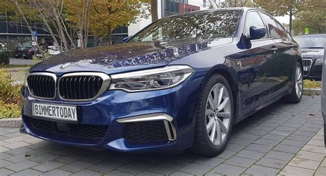 pre production 2017 bmw m550i xdrive g30 spotted in the