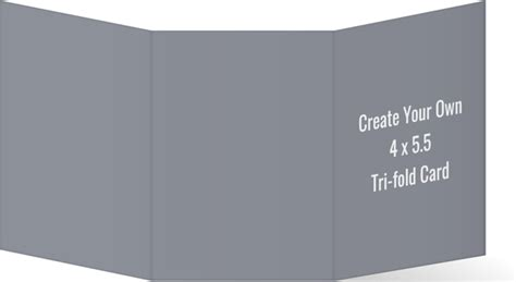 design your own card template create your own 4x5 5 tri fold card create your own