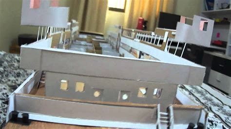 How To Make A Titanic Model Out Of Paper - titanic cardboard model 5