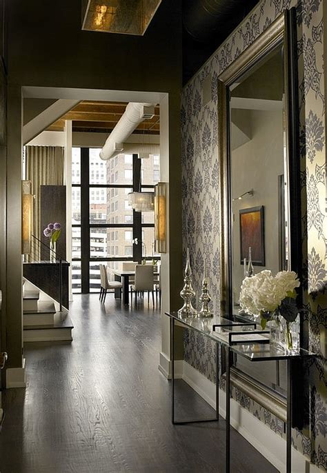 wallpaper design houzz inviting entryway ideas which burst with welcoming coziness