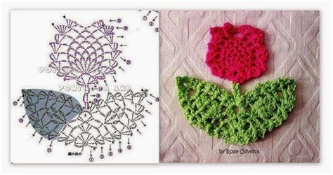fiori a crochet mini motif fiori a crochet paciuga brega e imbelina