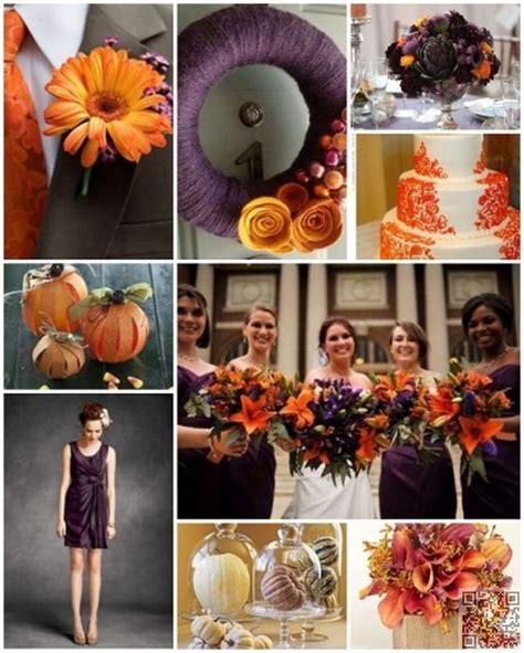 6 #Perfect Combinations for Fall #Wedding Colors