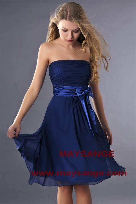 robe de soir 233 e bleu nuit le de la mode