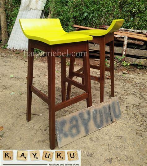 Kursi Bar Dari Kayu kursi bar kayu minimalis mebel jepara furniture minimalis