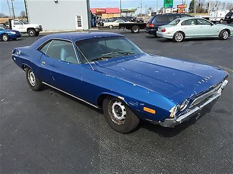 challenger project car for sale 1972 dodge challenger project car for sale